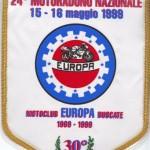 Gagliardetto 20° Anniversario Moto Club Europa Buscate