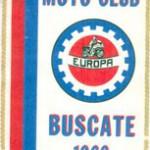 Gagliardetto fondazione 1969 Moto Club Europa Buscate